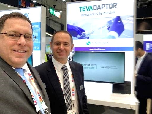 Simplivia™ CEO Oded Grinstein (L) and Commercial Director Dima Rainer